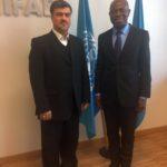 ملاقات آقای دکتر عمادی با رئیس صندوق بین المللی توسعه کشاورزی