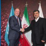 دیدار رسمی آقای دکتر عمادی با رئیس هیات اجرائی برنامه جهانی غذا