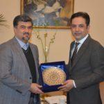 ملاقات دو جانبه آقای دکتر عمادی با  آقای وحید عمر سفیر افغانستان