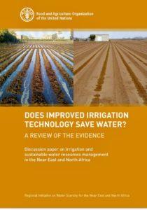 آیا فن  آوری های نوین آبیاری باعث صرفه جویی در مصرف آب می شود؟