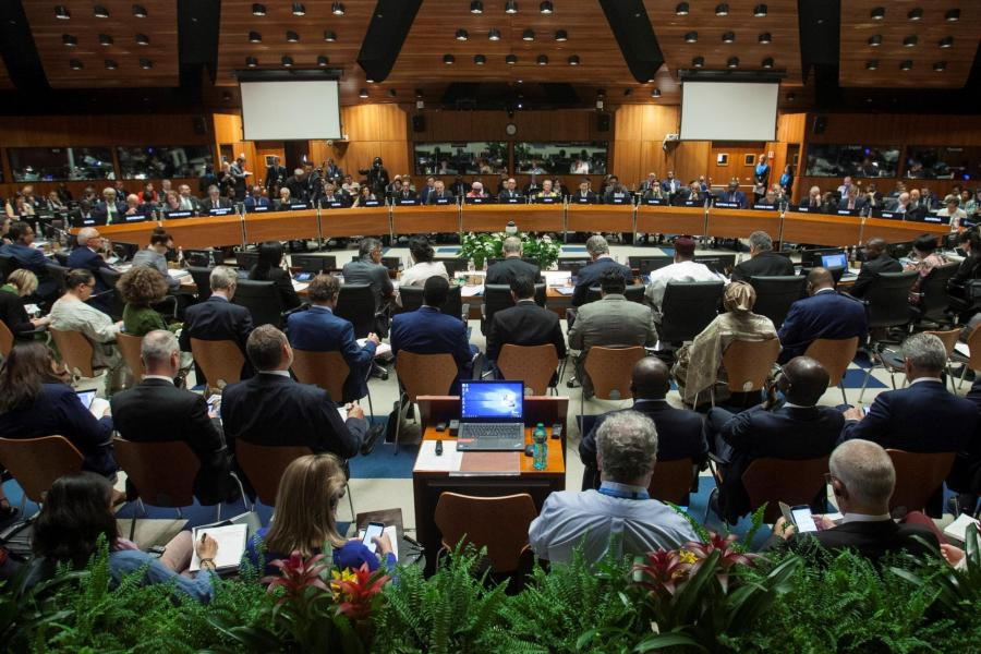 Annual session of the  WFP Executive Board, 2019