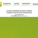 برگزاری پنجمین کنفرانس جهانی کشاورزی خانوادگی