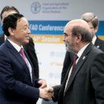 چو دونگ یو از کشور چین به عنوان مدیرکل جدید فائو انتخاب شد