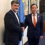 ملاقات دو جانبه با مدیرکل منتخب فائو از کشور چین