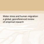بحران آب و مهاجرت : یک بررسی جهانی ، جغرافیایی ازتحقیقات تجربی