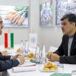 دیدار دو جانبه با آقای دکتر بارتا پتر وزیر کشاورزی مجارستان در نمایشگاه ملی غذا و کشاورزی بوداپست