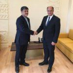دیدار با آقای حسن اللقيس وزیرکشاورزی لبنان