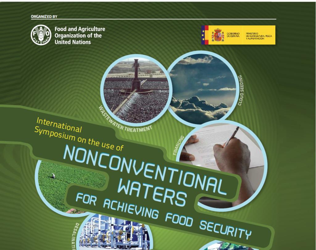"""سمپوزیوم بین المللی"""" استفاده از منابع آب غیر متعارف برای دستیابی به امنیت غذایی"""" 14 الی 15 نوامبر  مادرید – اسپانیا"""