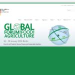 گردهمائی جهانی غذا و کشاورزی 16 لغایت 17 ژانویه 2020 برلین – آلمان