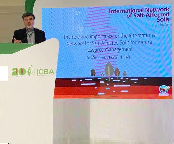 """سخنرانی آقای دکتر عمادی در گردهمائی جهانی """"نوآوری برای مناطق حاشیه ای""""   20-21 نوامبر  دبی – امارات"""