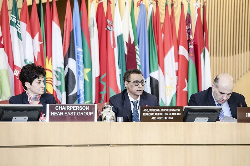 سی و پنجمین کنفرانس منطقه ای فائو برای خاورنزدیک و شمال آفریقا در مسقط عمان به تعویق افتاد
