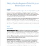 کاهش تاثیرات کوید 19 دربخش دامداری