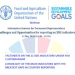 SDGs وبینار چالش ها و فرصت های گزارش دهی در مورد شاخص های اهداف توسعه پایدار