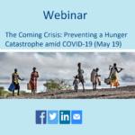 وبینار بحران در حال وقوع : جلوگیری از فاجعه گرسنگی ناشی از کوید 19