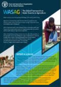برنامه کاری چارچوب جهانی کمبود آب دربخش کشاورزی فائو (WASAG)