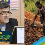 سخنرانی آقای دکتر عمادی در وبینارچارچوب جهانی کمبود آب در بخش کشاورزی