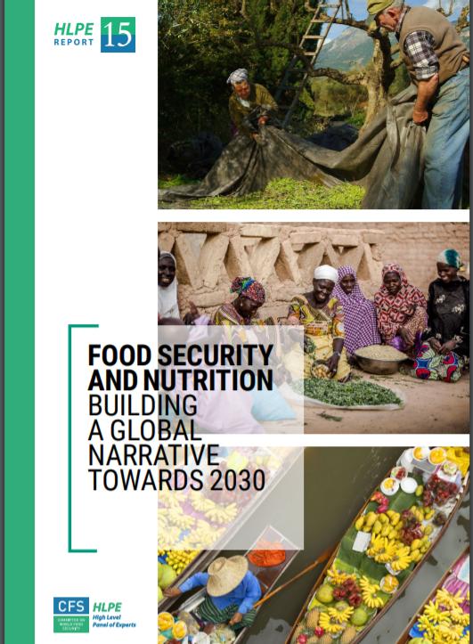 پانزدهمین گزارش متخصصین علمی کمیته جهانی امنیت غذا