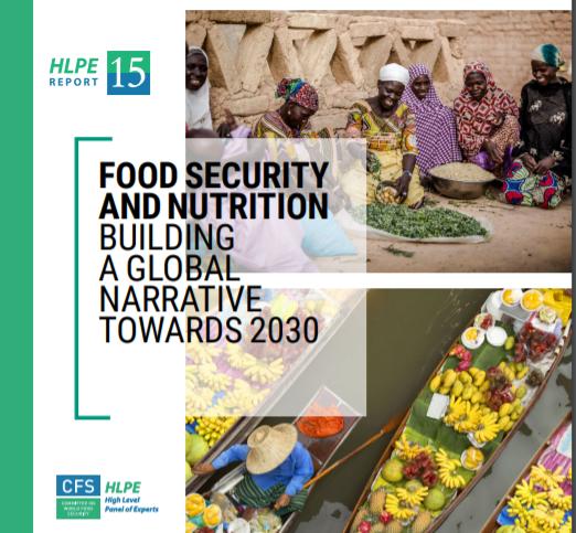 رونمایی از  پانزدهمین گزارش متخصصین علمی کمیته جهانی امنیت غذا