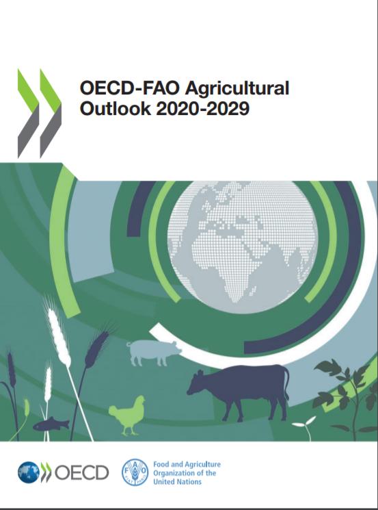 پیش بینی کشاورزی سال های 2020-2029